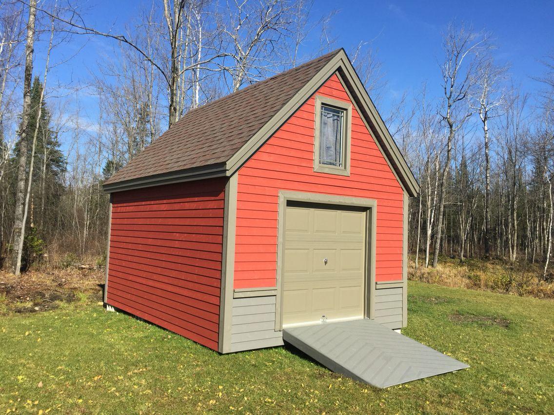 Remise 16x12 cabanon remise de jardin garage outdoor structures outdoor et shed - Baraque de jardin ...