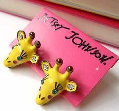 Betsey Johnson Jewelry on Pinterest | Betsey Johnson, Stud ...
