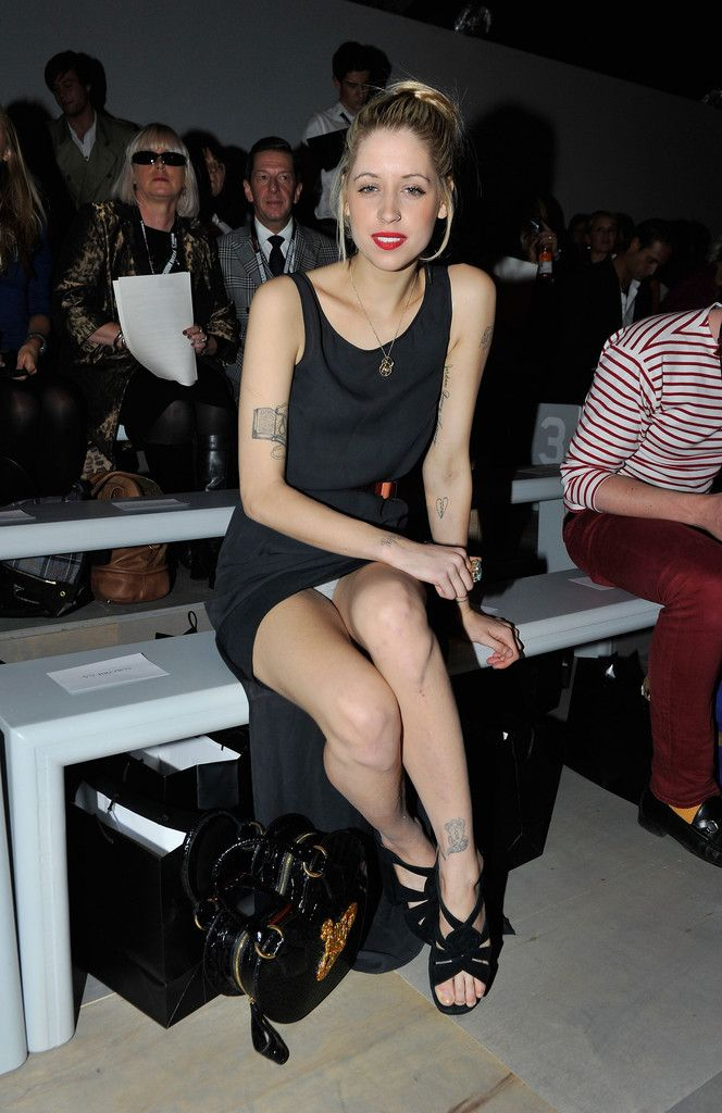 51444458041d Peaches Geldof Photos  Celebrities On The Front Row at London Fashion Week  Spring Summer 2012