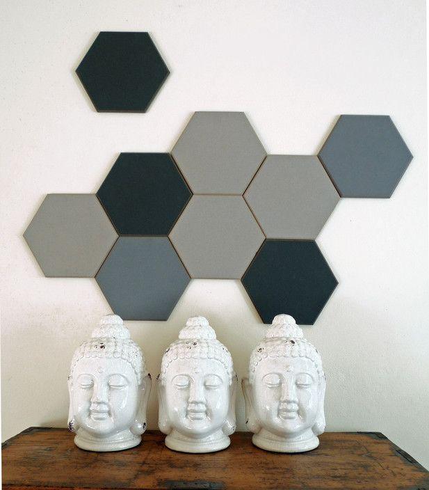 Mini Hexagonal Designer Pinboards 25cm - Designer Pinboards Australia, Interior Design, St Peters, NSW, 2044 - TrueLocal