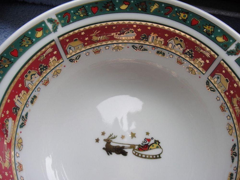 Schale, Schüssel klein, Maebata, Merry Christmas, Porzellan ...