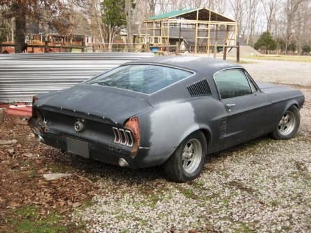 1967 Ford Mustang Fastback Project Car Make Offer