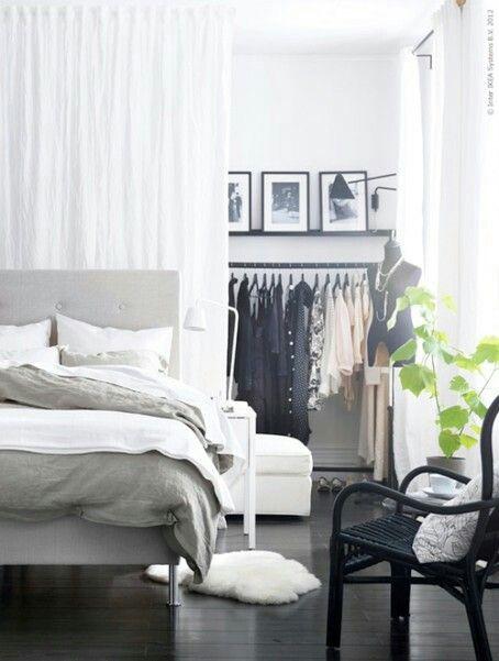 Pin By Arquitrecos Blog On Quartos De Casal Ikea Bedroom Design Small Bedroom Decor Home