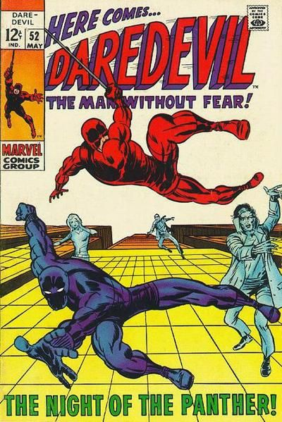 "Black and red knights rising! The Black Panther and Daredevil begin a beautiful friendship. From the people behind ""Avengers"" and ""Conan."""