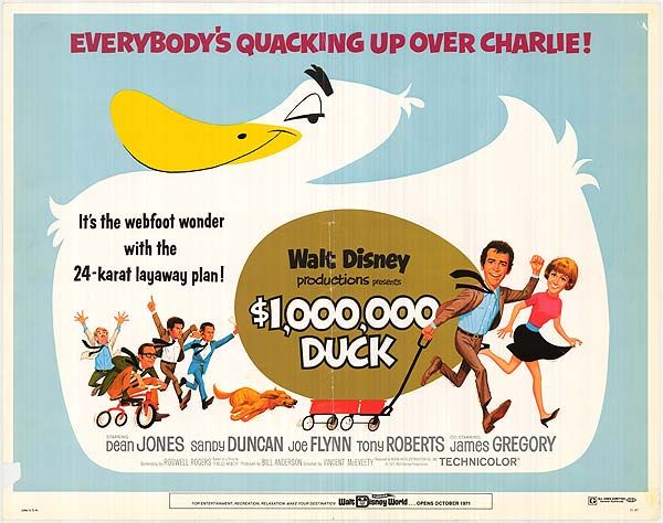 Million Dollar Duck | Classic disney movies, Disney movie posters ...
