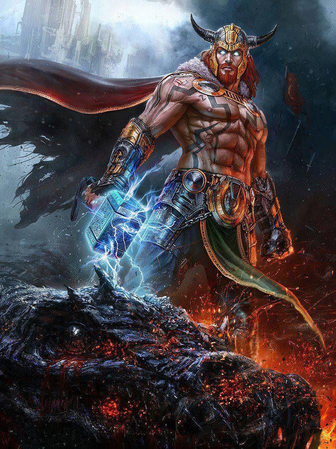 Thor Filho de Odin...