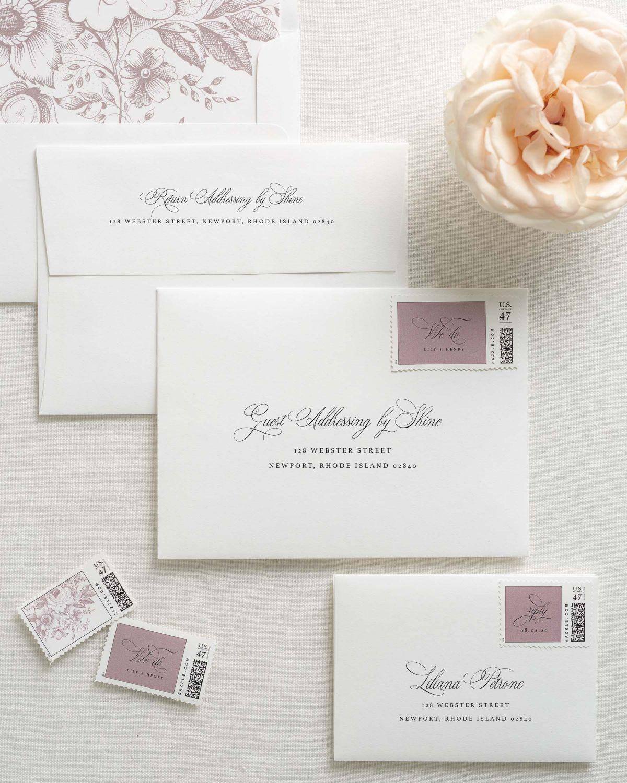 Liliana Letterpress Wedding Invitations In 2019 Wedding