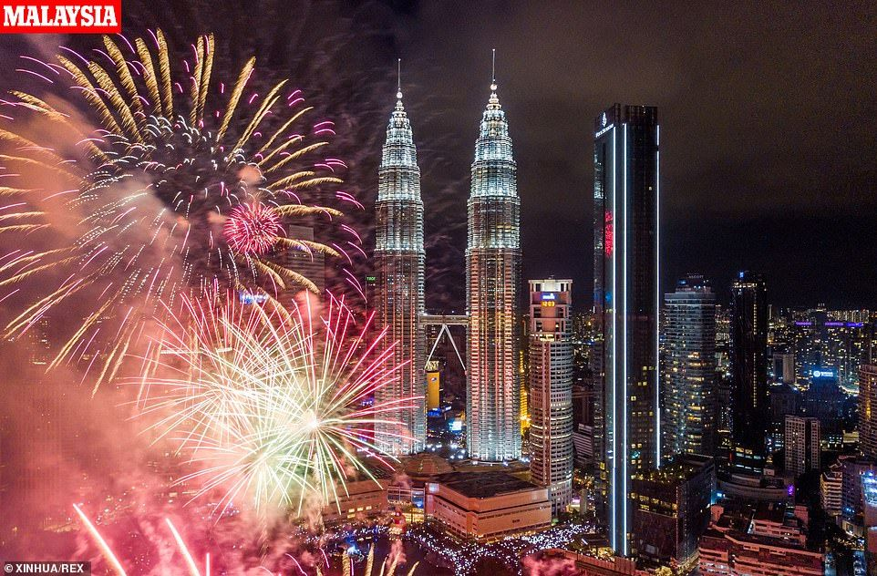 People across the globe celebrate New Year's Eve 2019
