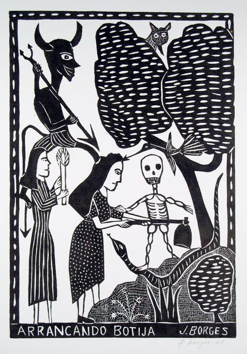 Arrancando botija by J.Borges