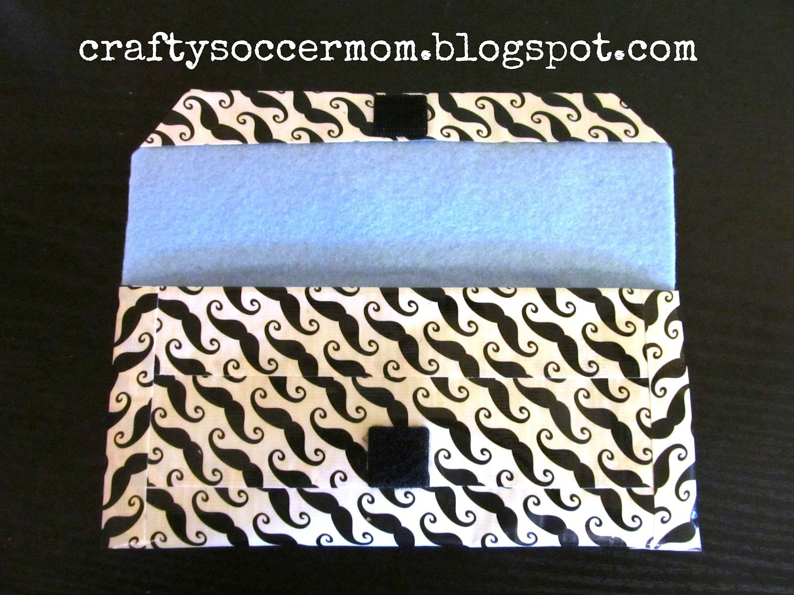 Crafty Soccer Mom Duct Tape Clutch Beginner Level Teen