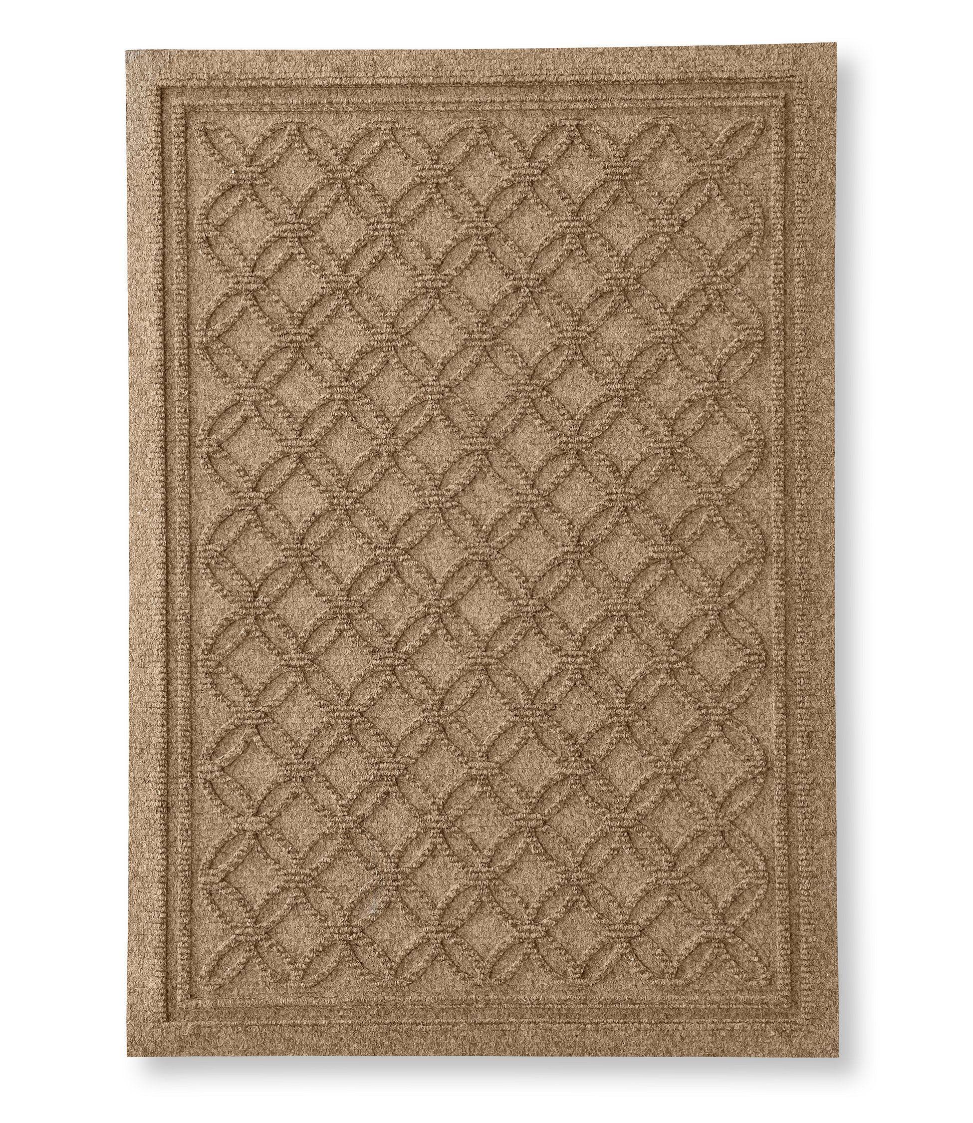 Heavyweight Recycled Waterhog Doormat Locked Circles In 2020 Waterhog Mat Door Mat Outdoor Door Mat