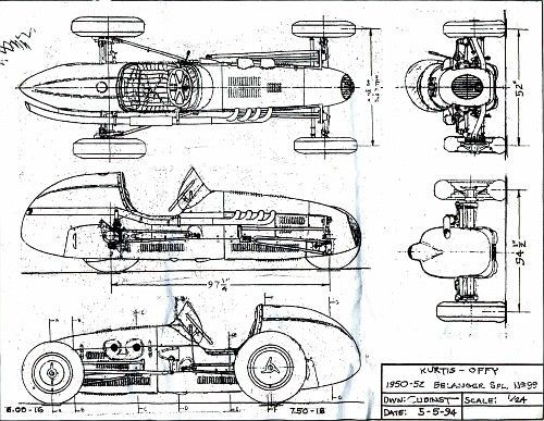 Image Result For Drawings Of Watson Roadsters Old Race Cars