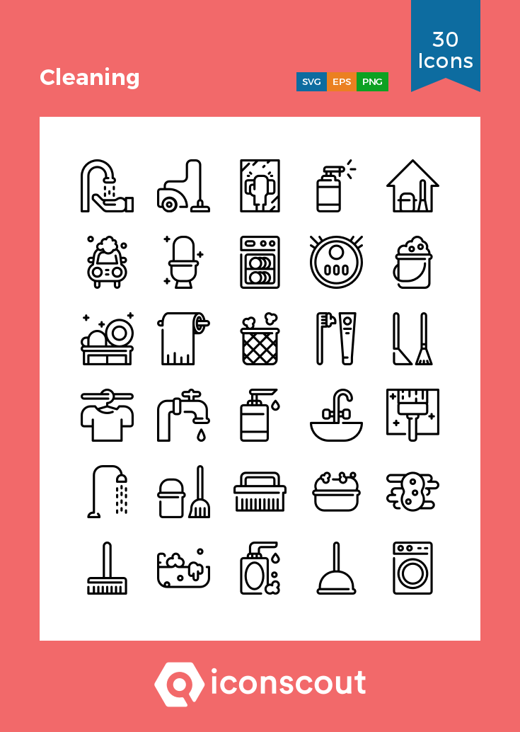 Download Cleaning Icon Pack Available In Svg Png Eps Ai Icon Fonts Cleaning Icons Icon Pack Icon