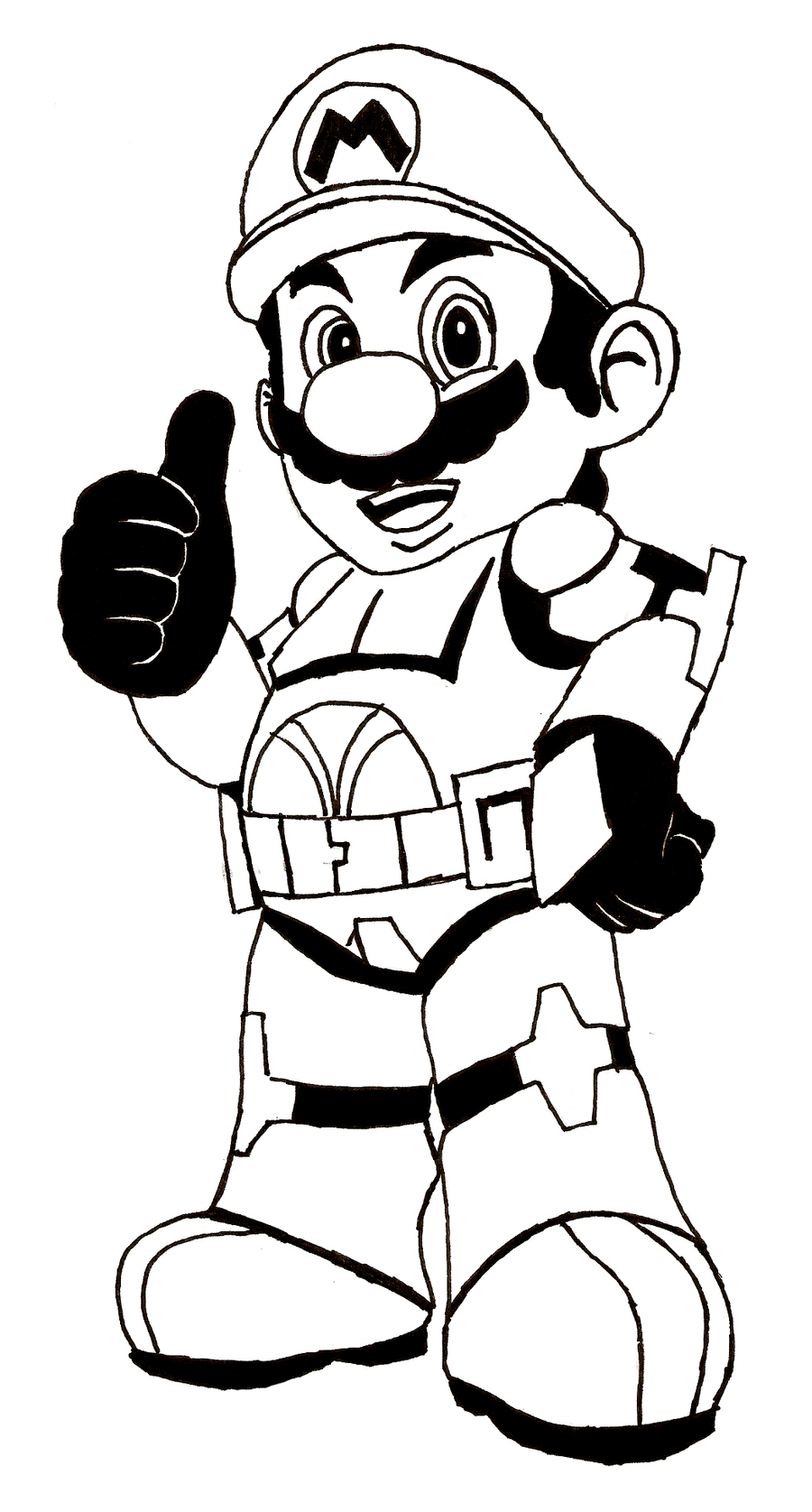 Free Mario Coloring Pages To Print
