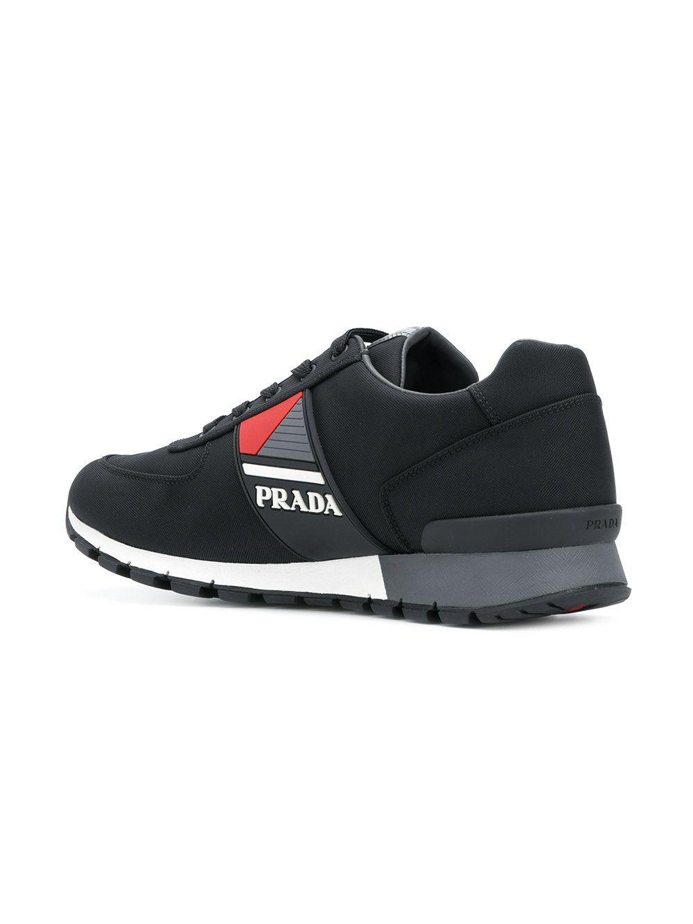 96dc03b8 Prada zapatillas bajas con logo | Shoes | Zapatillas bajitas ...