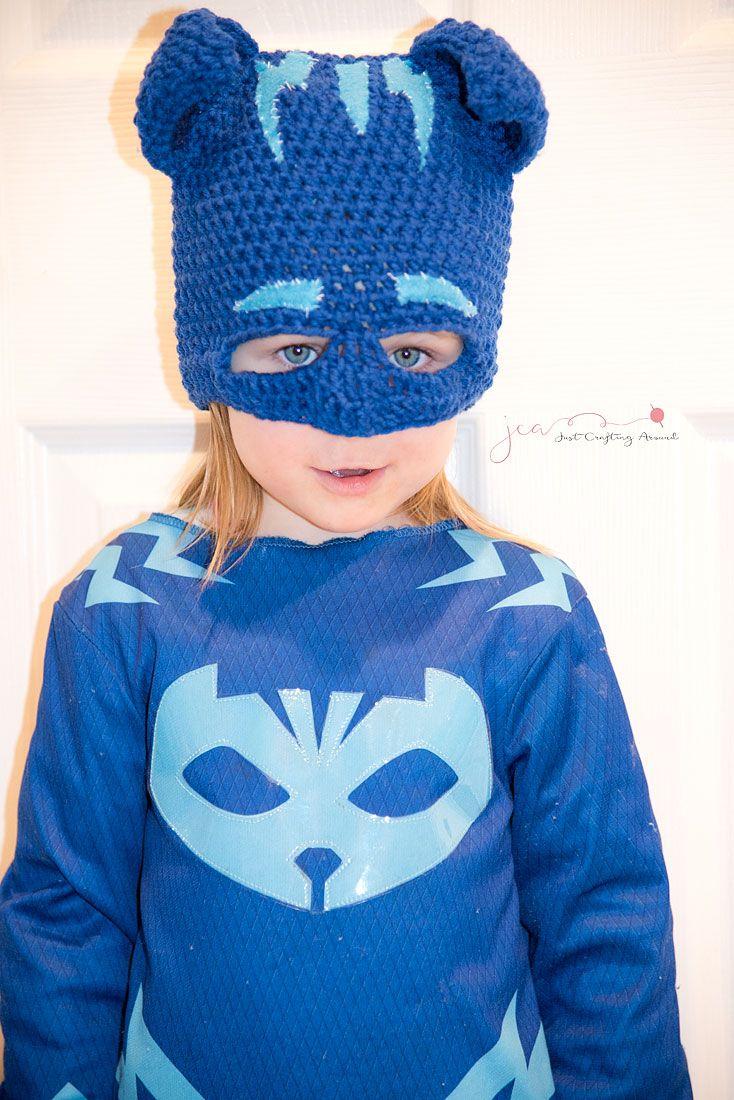 Catboy Mask Free Crochet Pattern | crochet | Pinterest | Patrones ...
