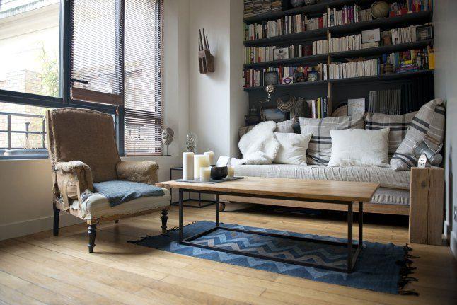 Un ancien bureau parisien transformé en appartement planete deco a