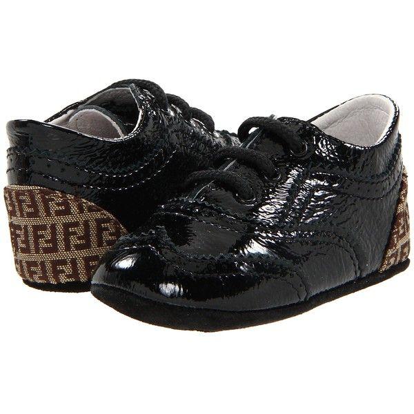 Fendi Kids Baby Boy Patent Leather Shoe