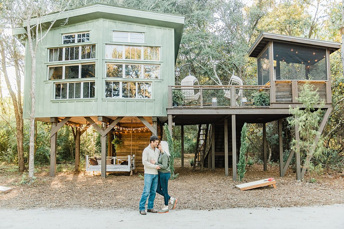 Glamping In A Luxury Treehouse Charleston South Carolina