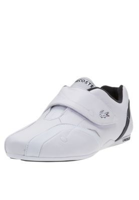 b85b800b3c75 Lacoste Leather Velcro Strap Sports Shoes