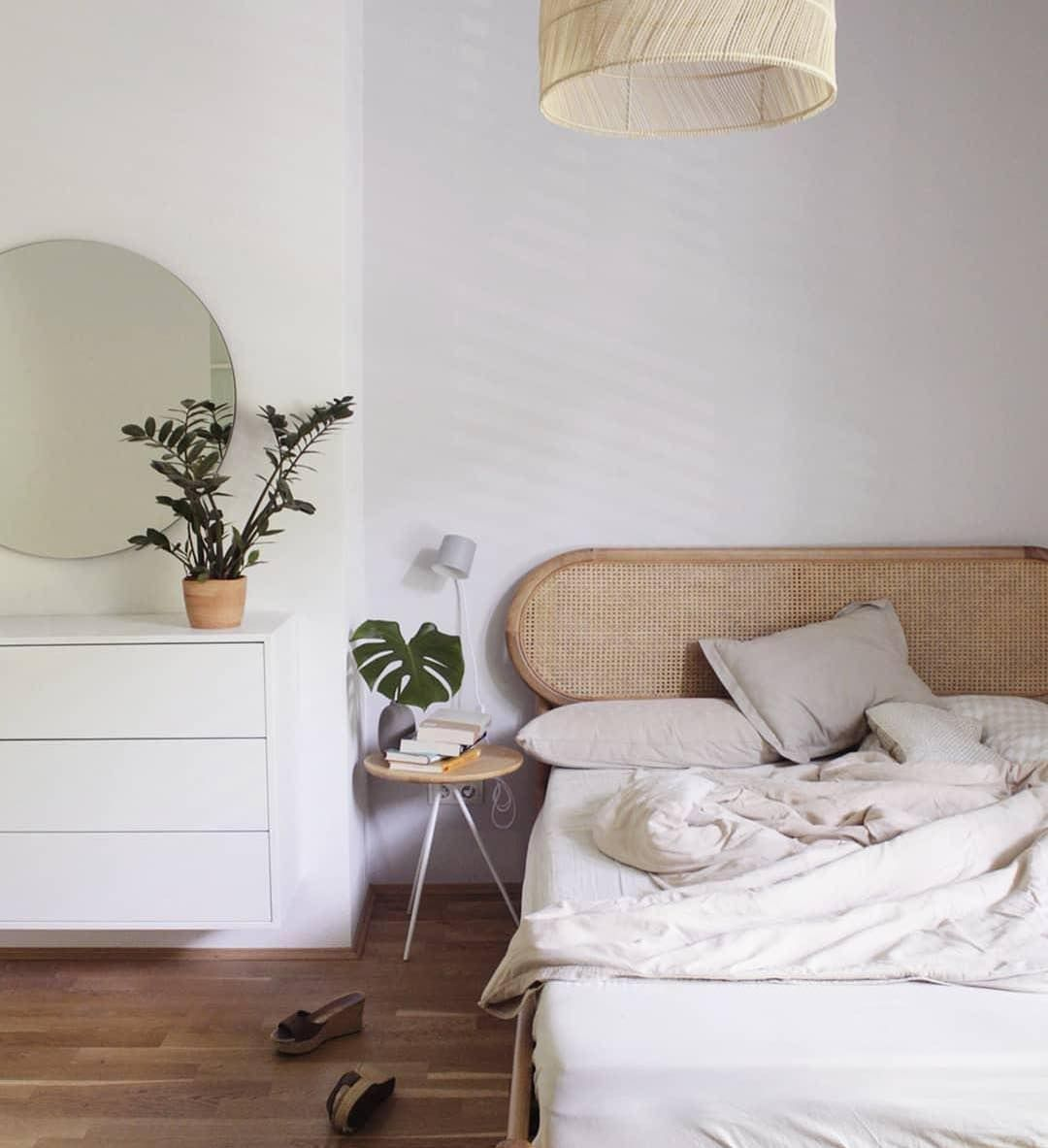 The Reema Rattan Bed. Bringing 70s Boho Vibes To Bedrooms