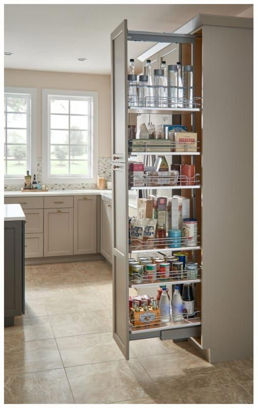 I D Love This In My Kitchen Unique Tall Pull Out Pantry Cabinet
