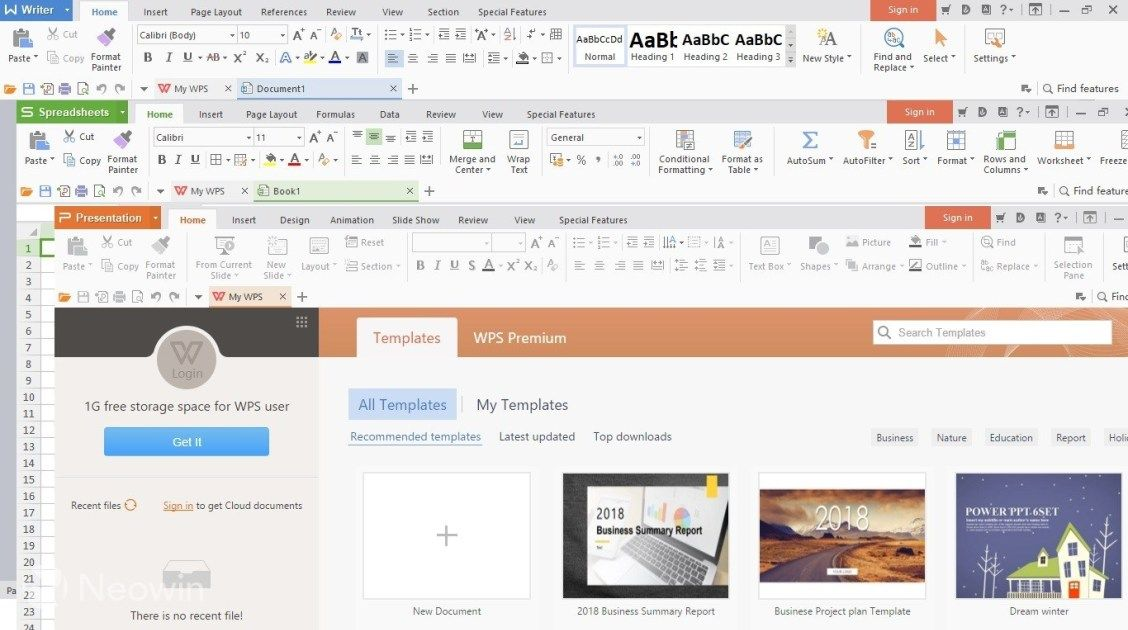 WPS Office 2019 Download Free Version for Windows PC | https