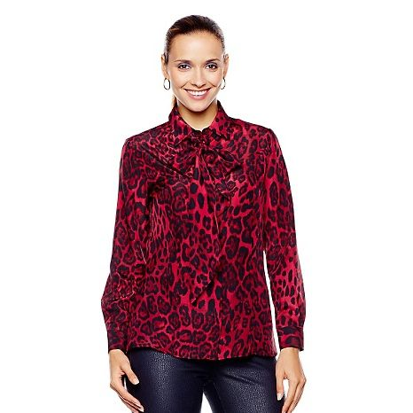 Giuliana Rancic Leopard Blouse 59
