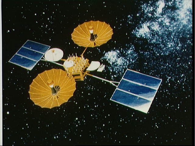 The Trw Built Tracking And Data Relay Satellite Tdrs Is