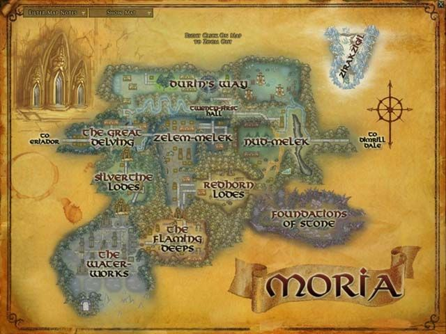 Map of Moria   LOTR | Nerdy Facts in 2019 | The hobbit, Mines of