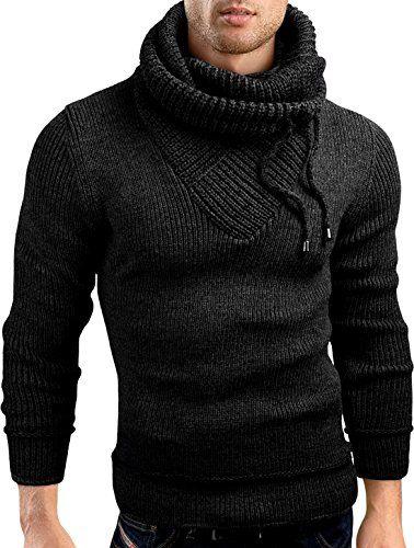Grin&Bear Slim Fit shawl collar knit sweatshirt cardigan hoodie, GEC555