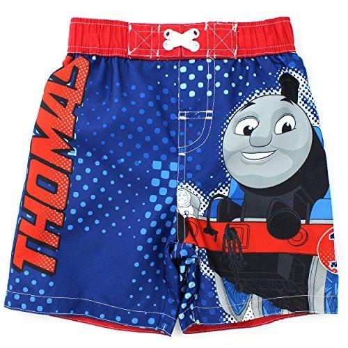 603c73f9c5 Thomas Train Boys Blue Swim Trunks Swimwear (2T) Thomas & Friends http: