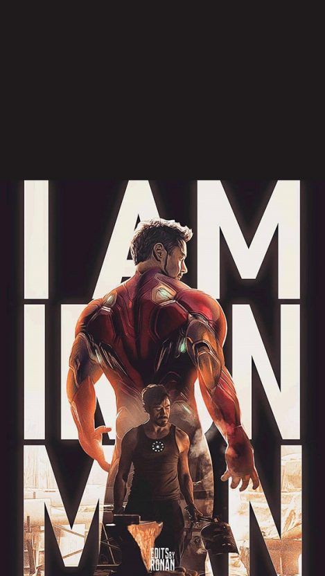 I am Iron Man iPhone Wallpaper