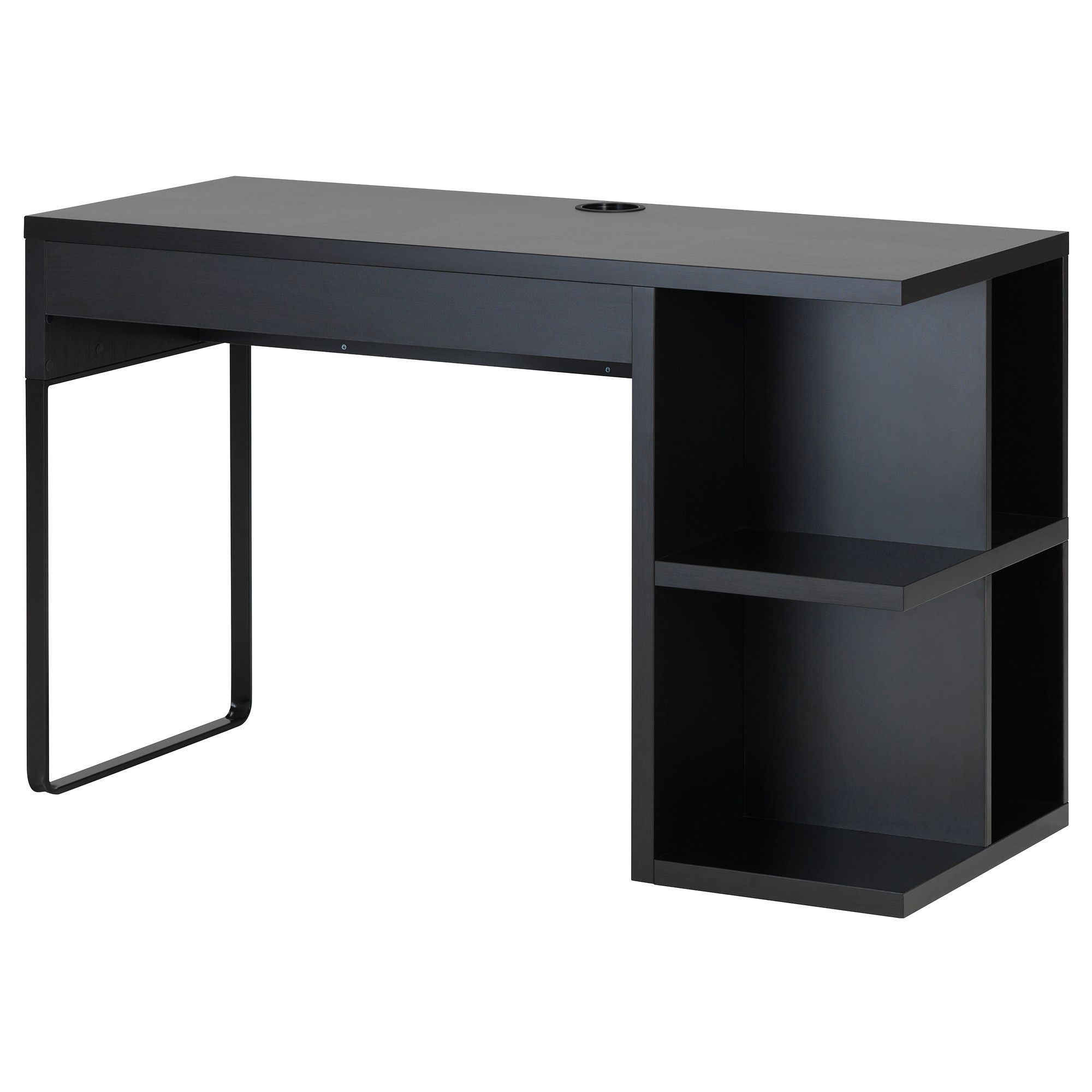 Delicieux Waiting For One Of These MICKE Desk With Integrated Storage   Black Brown    IKEA