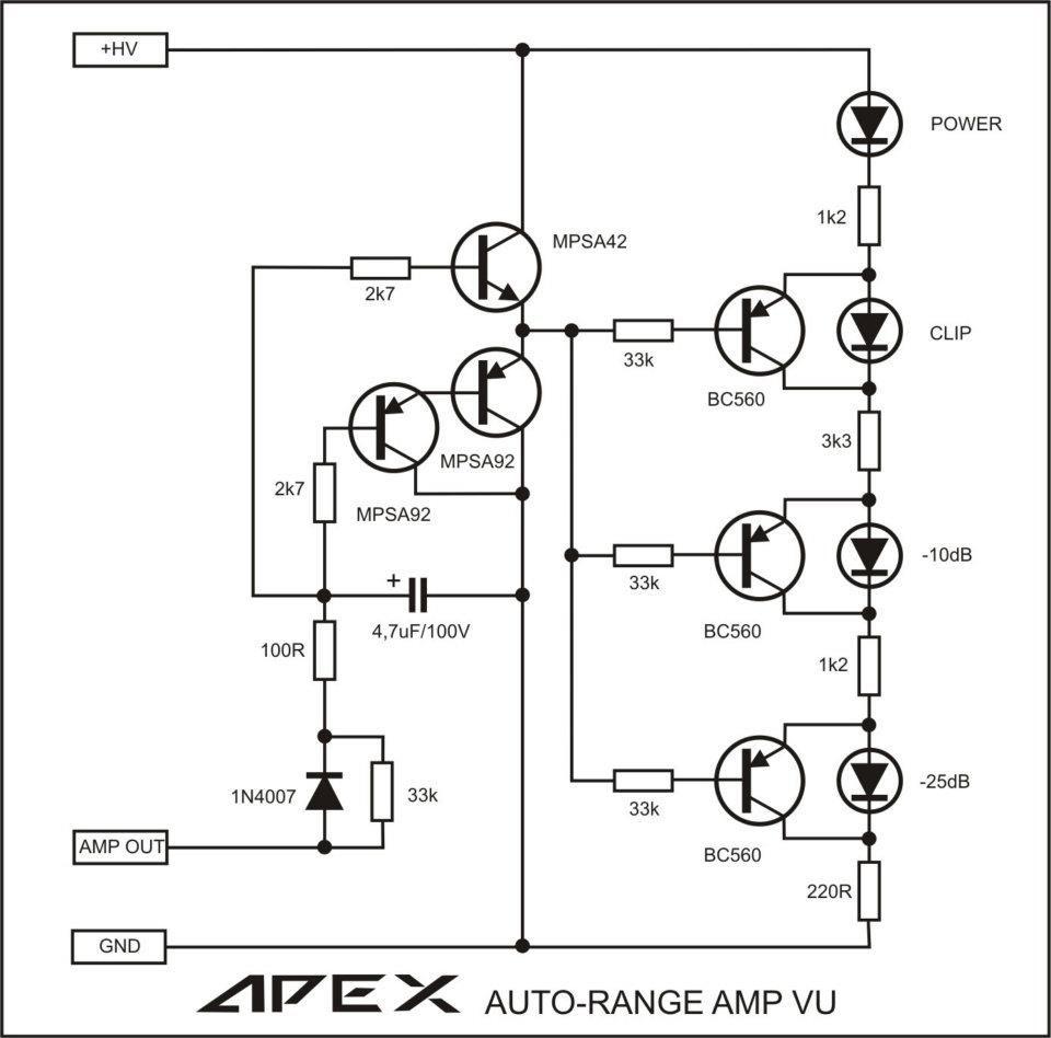 100w ultimate fidelity amplifier