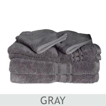 Charisma 100 Hygro Cotton 674 Gsm 6 Pc Towel Set Costco Towels