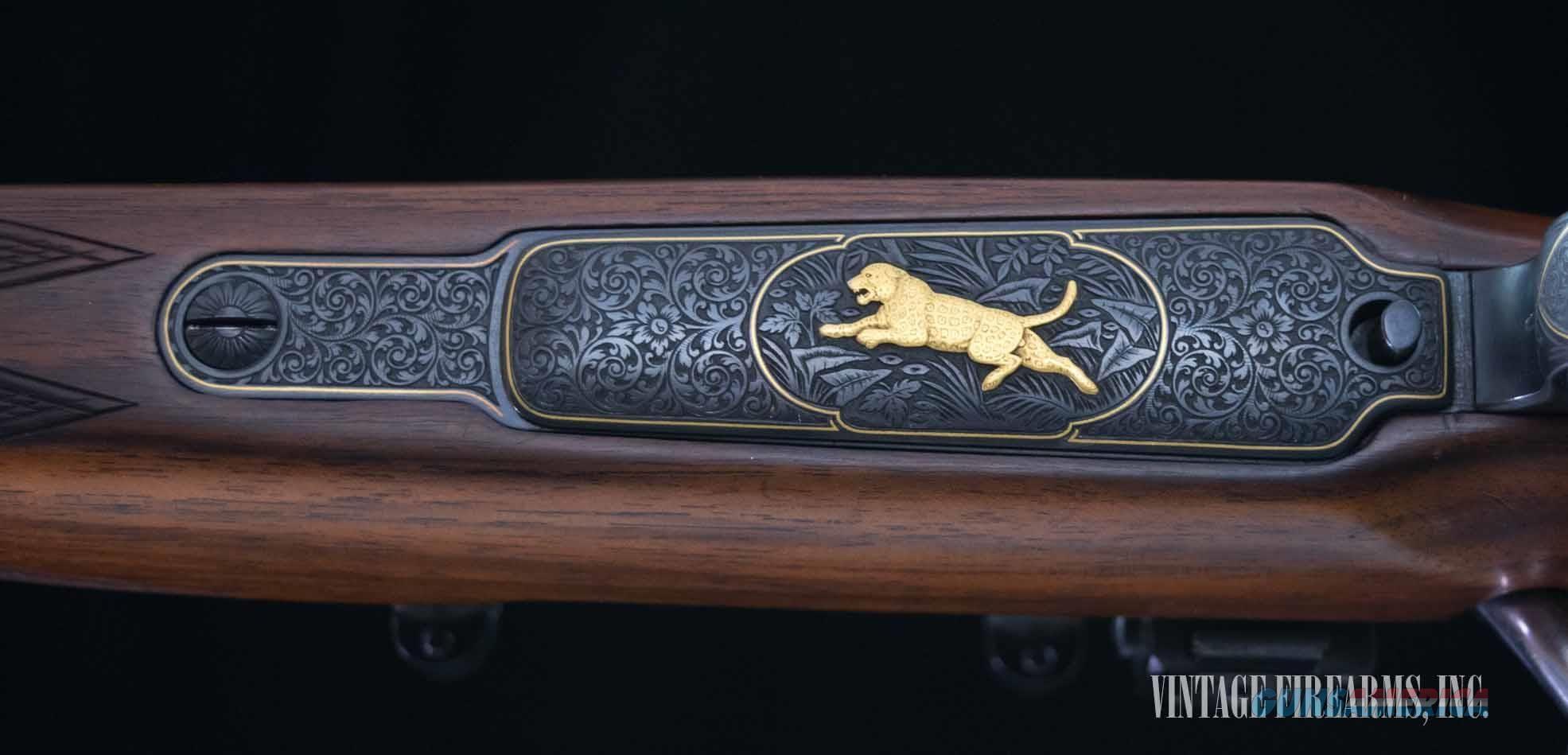 Paul Jäger paul jager custom mauser 98 floorplate engraving bolt