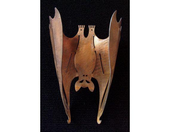 metal bat vampire halloween bat vampire bat hanging bat