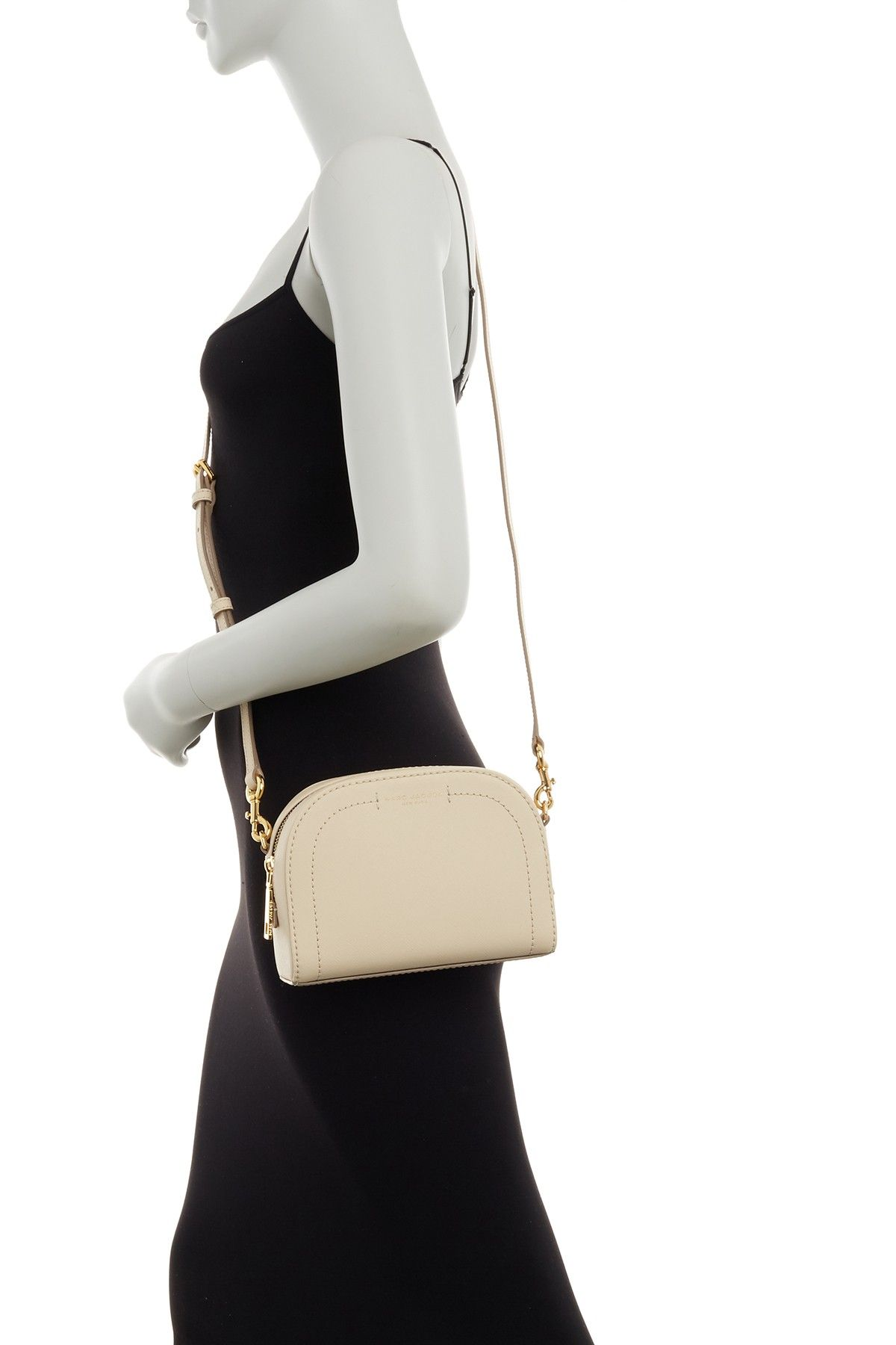 3cf75c315f Image of Marc Jacobs Playback Leather Crossbody Bag