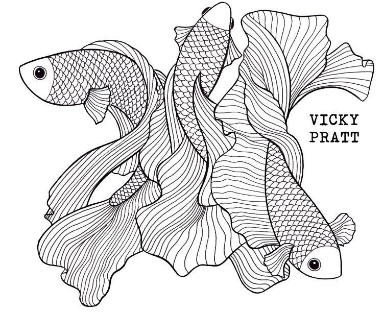 Pin On Vicky Pratt Illustrations
