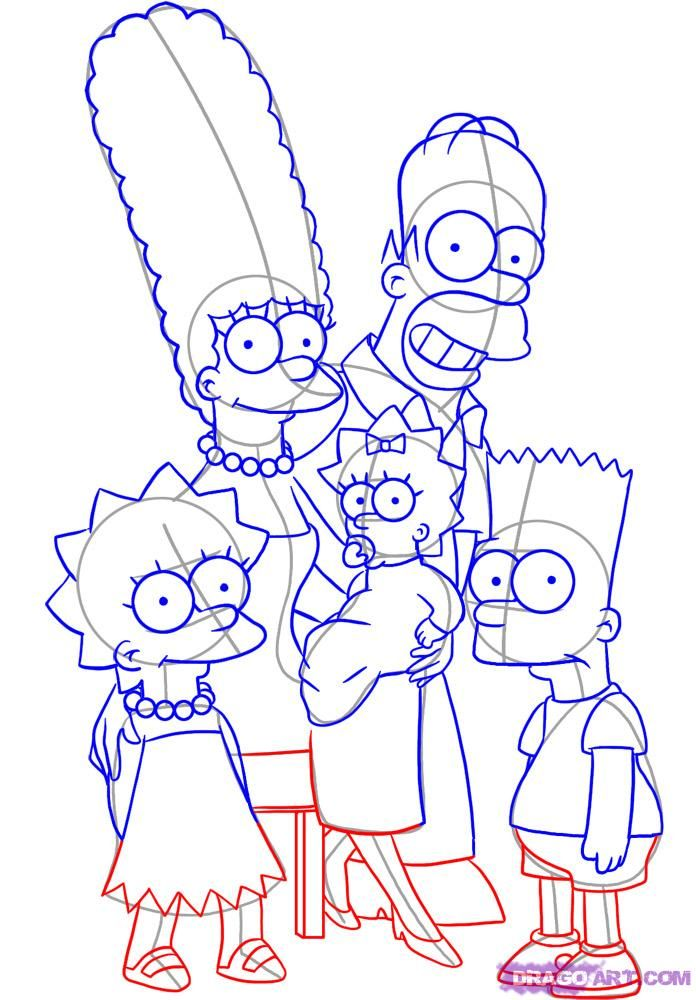How To Drawing For The Simpsons Created By Matt Groening The