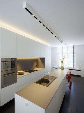 demo duplex pvd verlichting 1 keuken zwart moderne keukenkasten keuken interieur keuken inrichting