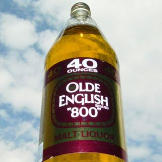 Old English 800. When I used to drink, 2 of these would do the trick