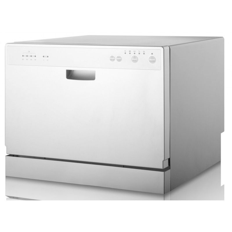 55cm Compact Dishwasher By Award D3203dw Features 6 Place Settings 6 Wash Programme Electronic Portable Dishwasher Compact Dishwasher Dishwasher Machine