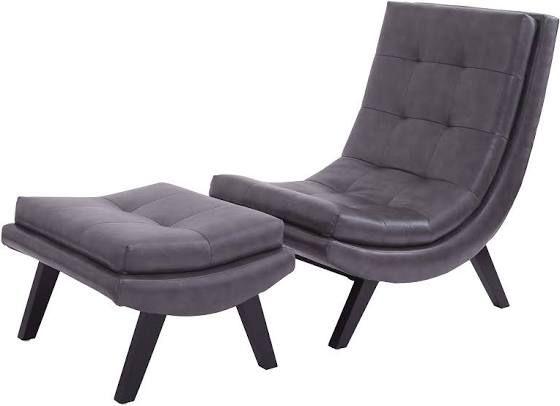 Brilliant Iconic Chaise Lounge Furniture Design Chair Ottoman Set Ibusinesslaw Wood Chair Design Ideas Ibusinesslaworg