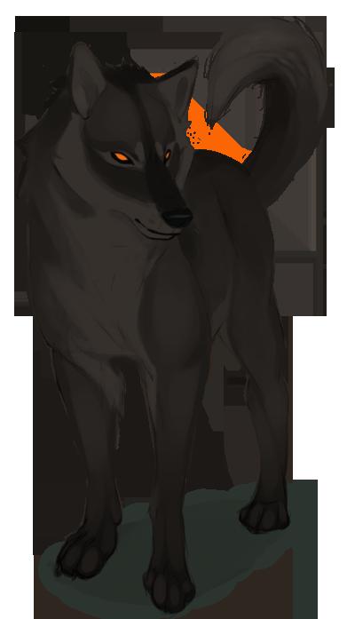 Brown Wolf By Naviira On Deviantart Wolf Art Dog Art Anime Wolf