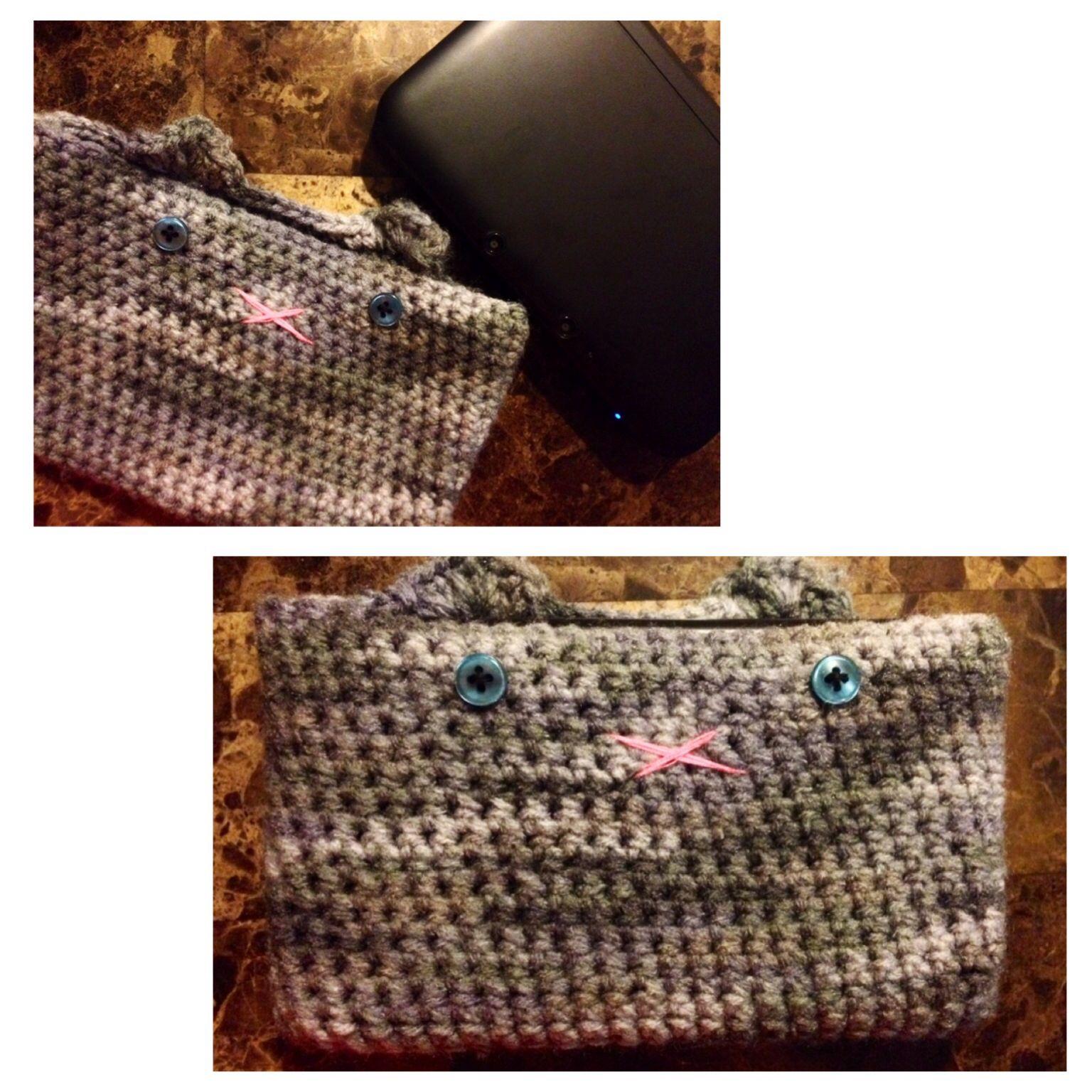 Crochet 3ds Xl Case