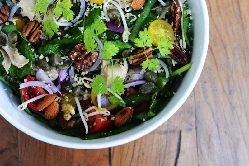 Sla Amsterdam - Great Salad Bar in de Pijp and de Jordaan #Amsterdam #healthyfood