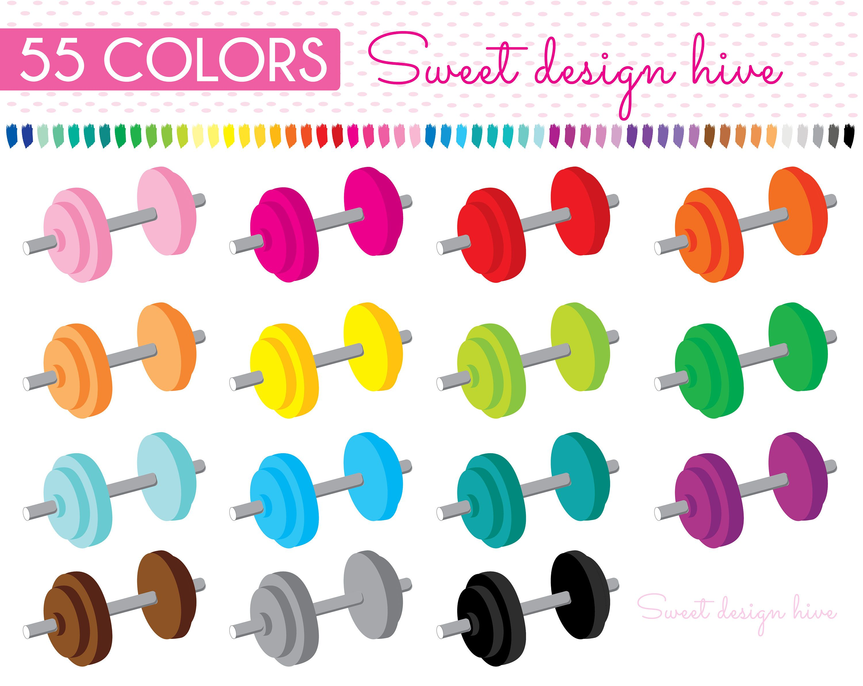 dumbbell clipart weights fitness clipart gym clipart sports clipart workout clipart gym equipment fitness planner stickers pl0088 by sweetdesignhive  [ 3000 x 2384 Pixel ]