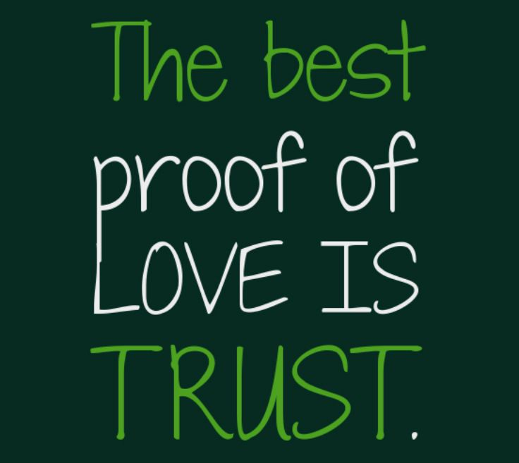 Ordinaire The Best Proof Of Love Is Trust #love #trust #quotes #meetville
